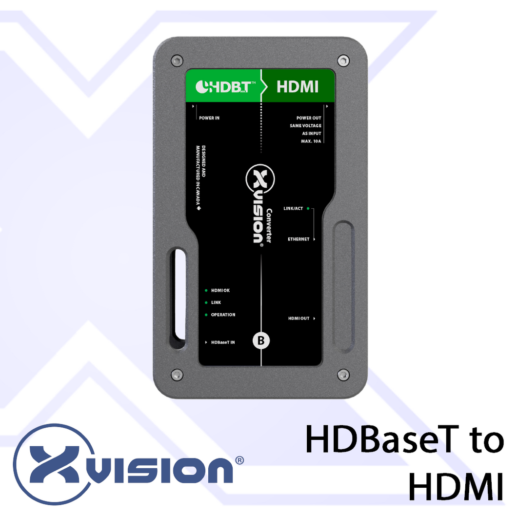 HDBaseT to HDMI Receiver