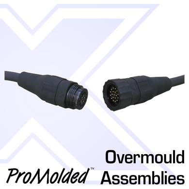 ProMolded 19-Pin Overmold Assemblies