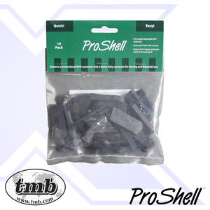 ProShell RJ45 Backshell - 10 Pack - Black