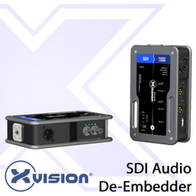 Load image into Gallery viewer, SDI Audio De-Embedder