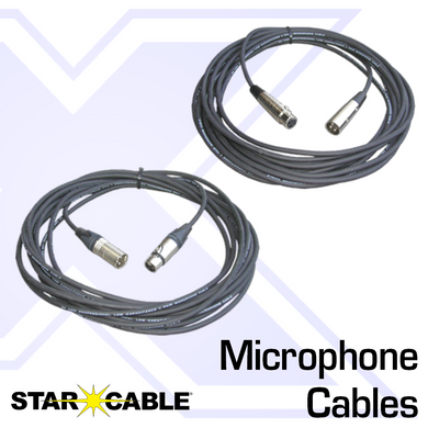 Starcable Microphone Cables