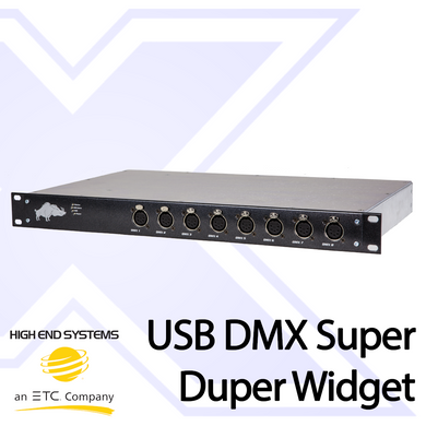 USB DMX Super Duper Widget