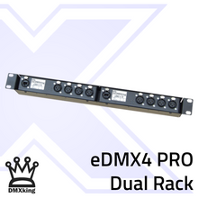 Load image into Gallery viewer, eDMX4 PRO 3Pin Dual Rack Mount