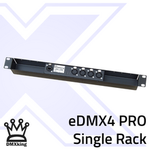 Load image into Gallery viewer, DMXking eDMX4 PRO 5Pin in Single Rack Mount