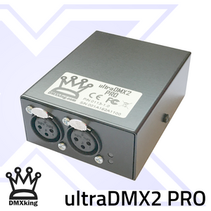 DMXking ultraDMX2 PRO 3Pin