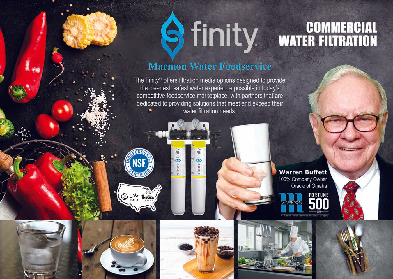 FINITY FOOD SERVICE WATER FILTRATION SYSTEM