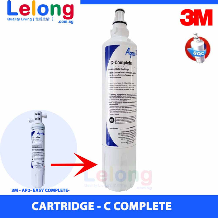 3M c-complete replacement cartridge for 3M CTM02 / 3M AP2- EASY COMPLETE / 3M DS02-CG