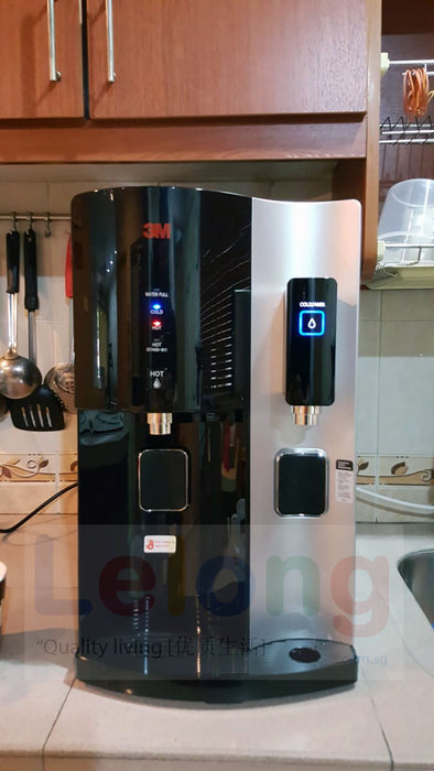 [3m Singapore Warranty] 3M Hcd2 Water Dispenser, Hot Cold Room Temperature Filtered Water Dispenser +UV light + Antibacterial *White