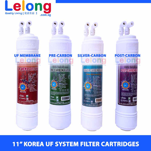 "11"" KOREA ULTRA FILTRATION + ANTIBACTERIAL WATER FILTER CARTRIDGES - U TYPE - INLINE - REPLACEMENT CARTRIDGES WATER FILTRATION SYSTEM"
