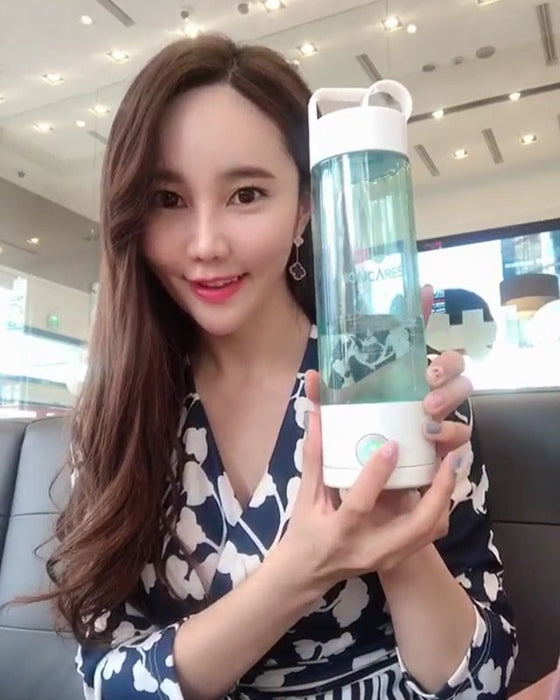Ioncares Portable Hydrogen Water Bottle Hydrogen Bottle Maker Hydrogen Water Purifier Tumbler Hydrogen Water