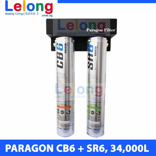 Paragon CB6+SR6 Water Filters High Capacity under counter/counter-top system Ideal for *Commercial Use