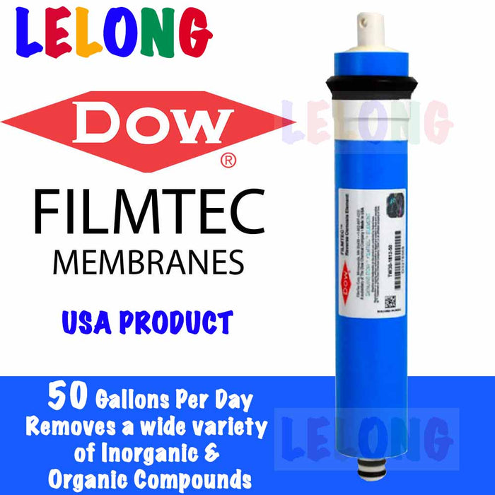 DOW FILMTEC TW30-1812-50 RO MEMBRANE FILTER, ideal for Elken, OEM RO Water Purifier System RO Membrane Filter Water Purifier