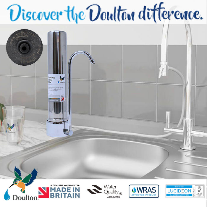 Doulton HCS Ultracarb CounterTop Drinking Water Purifier System