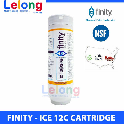 Finity ICE 12C replacement cartridge for Finity MOD1-ICE 12C , Food Services Restaurant Halal Commercial Water Filters System *For Commercial Use only!