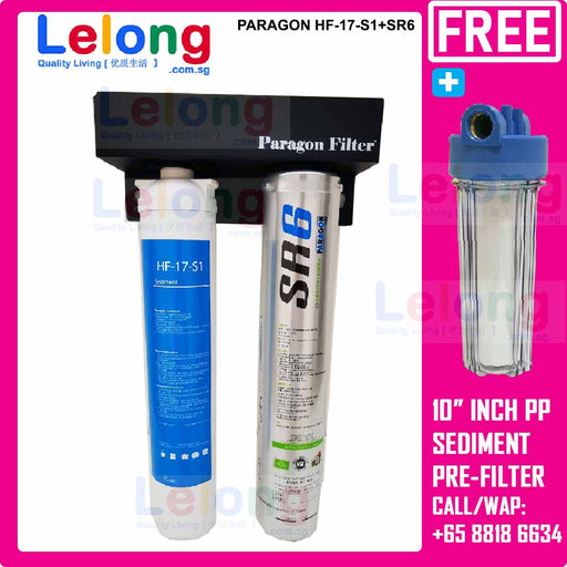 Paragon HF-17-S1+SR6 Water Filters High Capacity under counter/counter-top system Ideal for *Commercial Use
