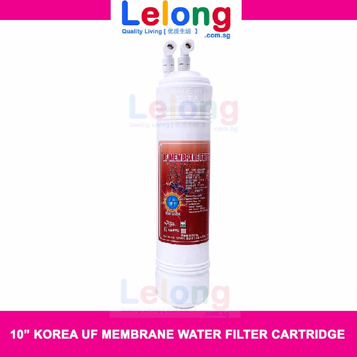"11"" KOREA UF MEMBRANE WATER FILTER CARTRIDGE, INLINE, U TYPE, CARTRIDGE"