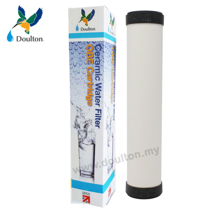Doulton OBE STANDARD, BLACK CAP! 0.9 Micron filtration rating (Pre Filter)