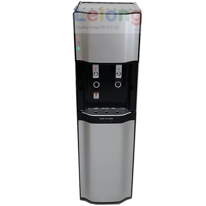 PTS 2100 Floor Stand Hot & Cold Filtered Water Dispenser Korea Ultra Filtration 4 Filters Water Purification System