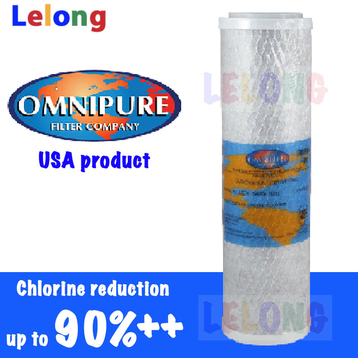 Omnipure High performance Carbon Block, OBE Carbon Block Filter Water Filter OMB934 MAX5 Cto Carbon Carbon Filter