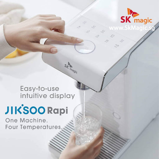 WPU A400D JIK.SOO RAPI Cold Hot Ambient Infant Child Water Purifier Tankless Water Dispenser