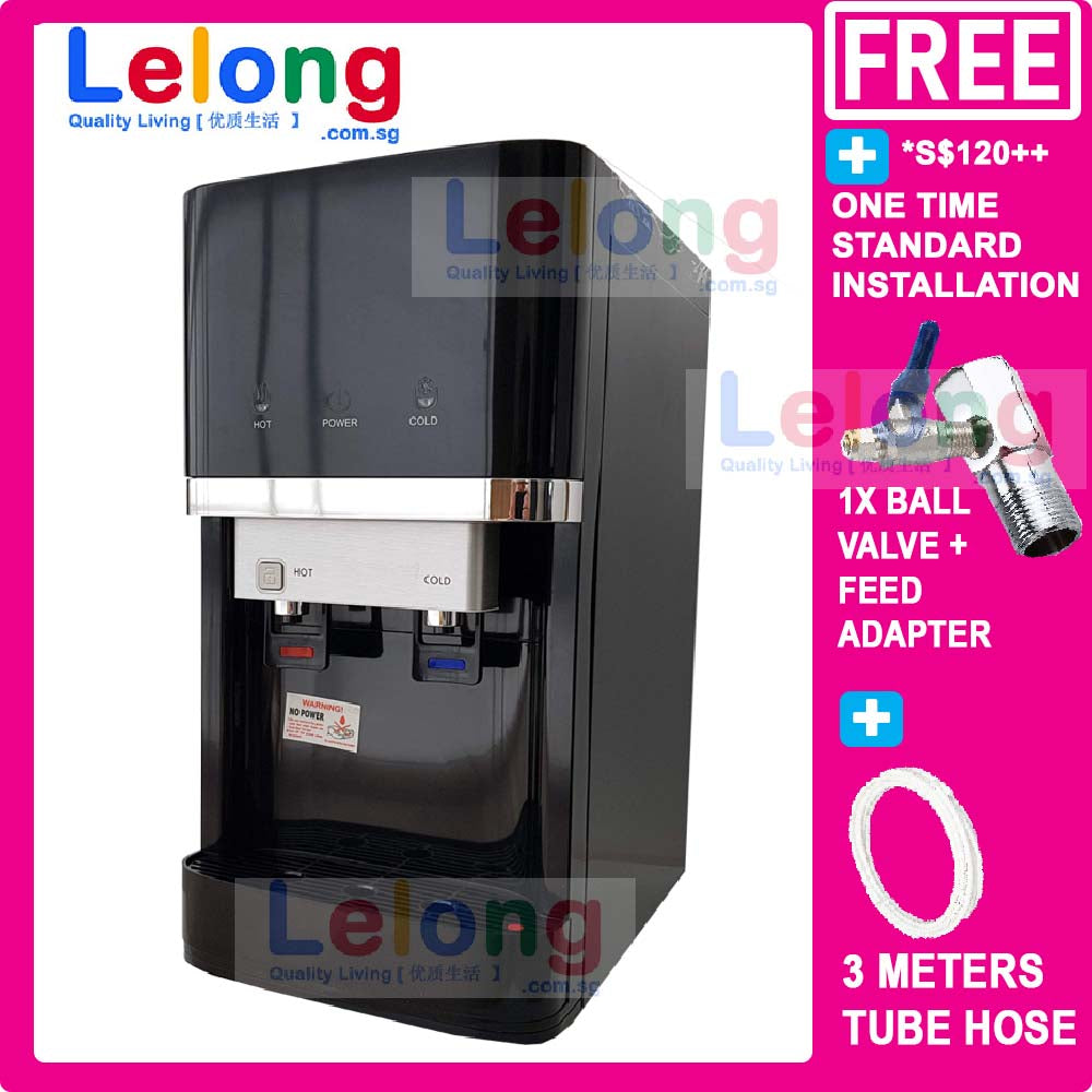 KDN300A Hot Cold Filtered Water Dispenser, 4 Korea Water Filters System