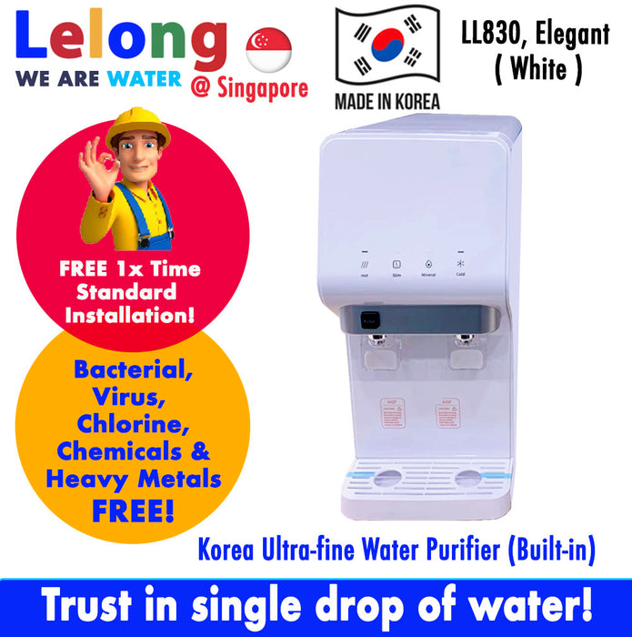 (Limited Stock!) LL830 KOREA HOT COLD ULTRA FILTRATION FILTERED WATER DISPENSER WATER PURIFIER