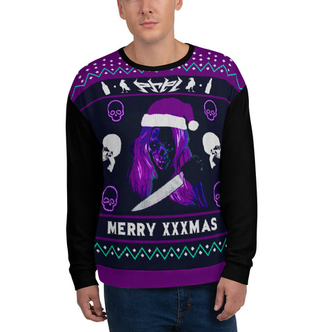 PRPL UGLY XXXMAS SWEATER