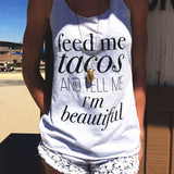 Women Loose TShirt Casual Sleeveless Tank Tops Lady Strap Top Vest for Summer - BADA$$ T-SHIRTS