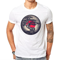 100% Cotton  Dusk Tree T Shirts - BADA$$ T-SHIRTS