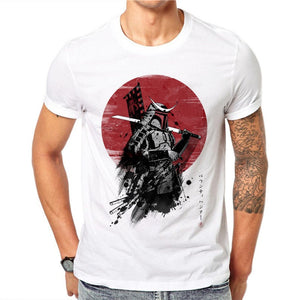 Japanese Samurai Warrior Short Sleeve shirt. - BADA$$ T-SHIRTS