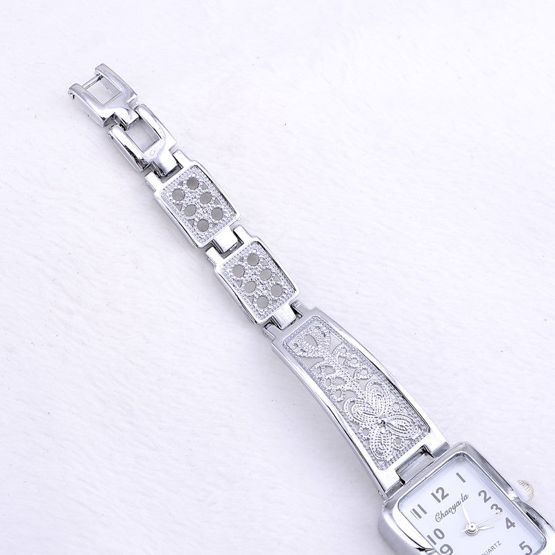 Luxury Silver Stainless Steel Bracelet Watch - BADA$$ T-SHIRTS