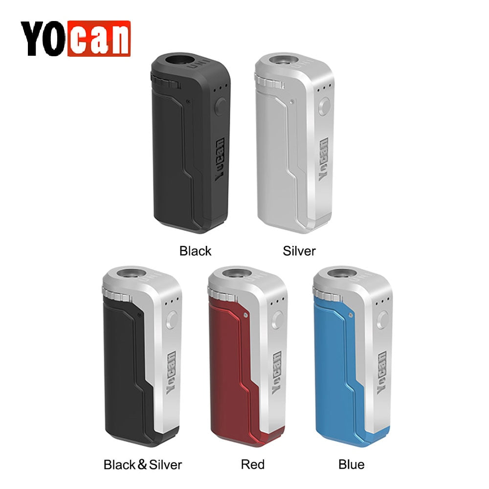 Original Yocan UNI Box Mod 650mAh Preheat Variable Voltage Battery For 510 - BADA$$ T-SHIRTS