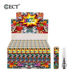 100pcs/lot Ceramic CBD atomizer ECT-KENJOY B2 Atomizer 0.5ml capacity 1.5ohm resistance Plastic tube or gift box packaging - BADA$$ T-SHIRTS