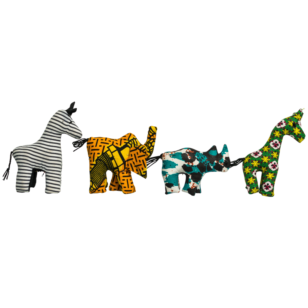 Set of Kitenge Animals