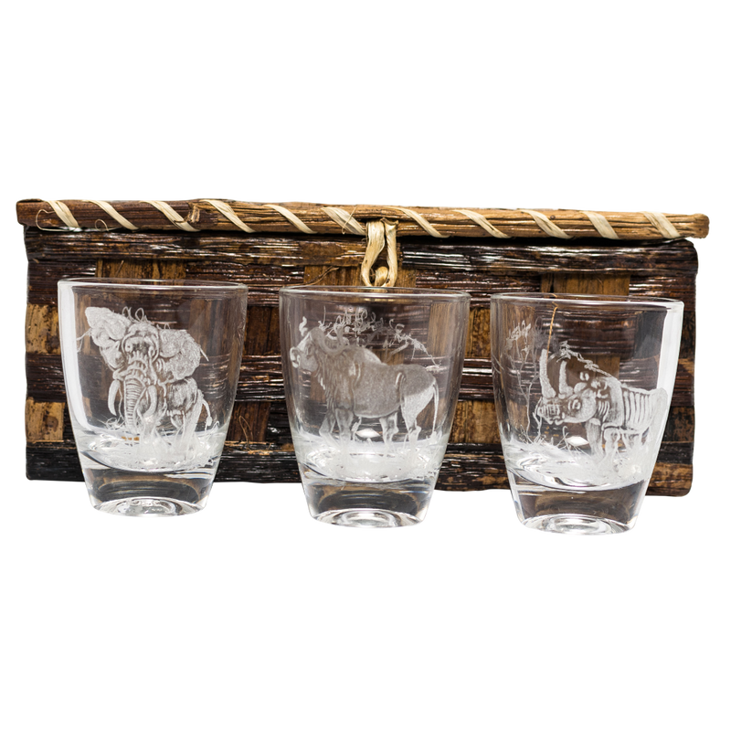 Animal Kingdom Shot Glass Set