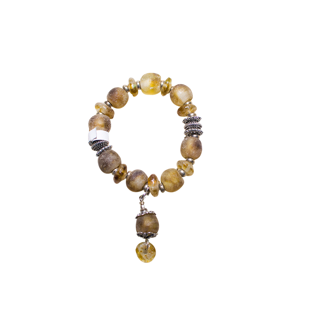 West African Gashi Beaded Bracelet