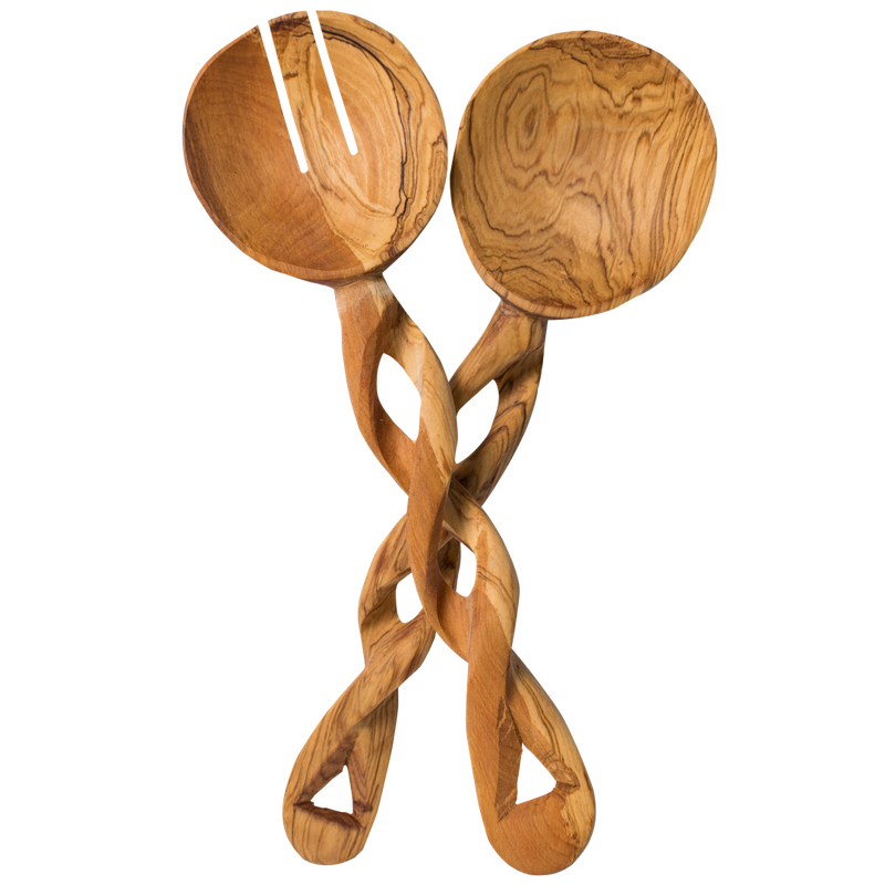 Twisted Wooden Spoons