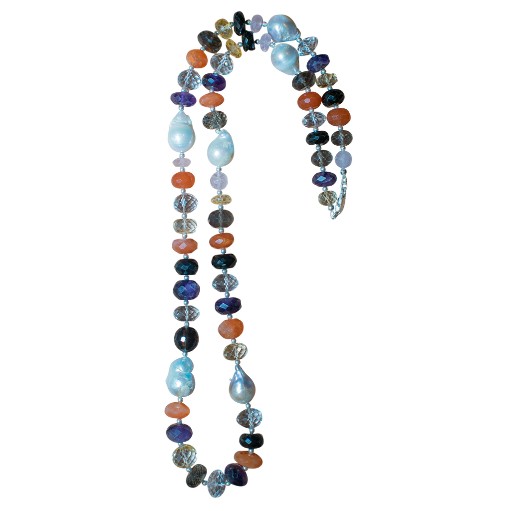 Mixed Semi- precious Necklace