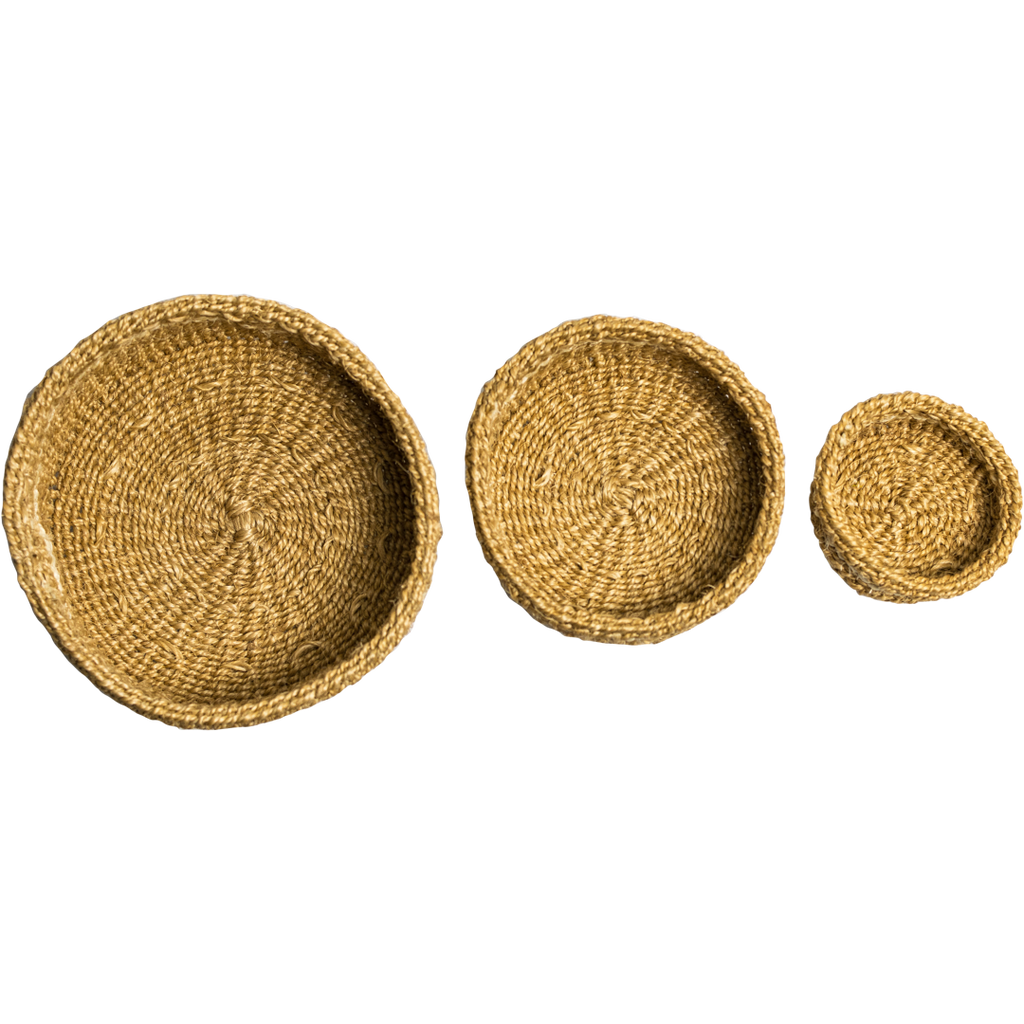 Hand Woven Natural Baskets