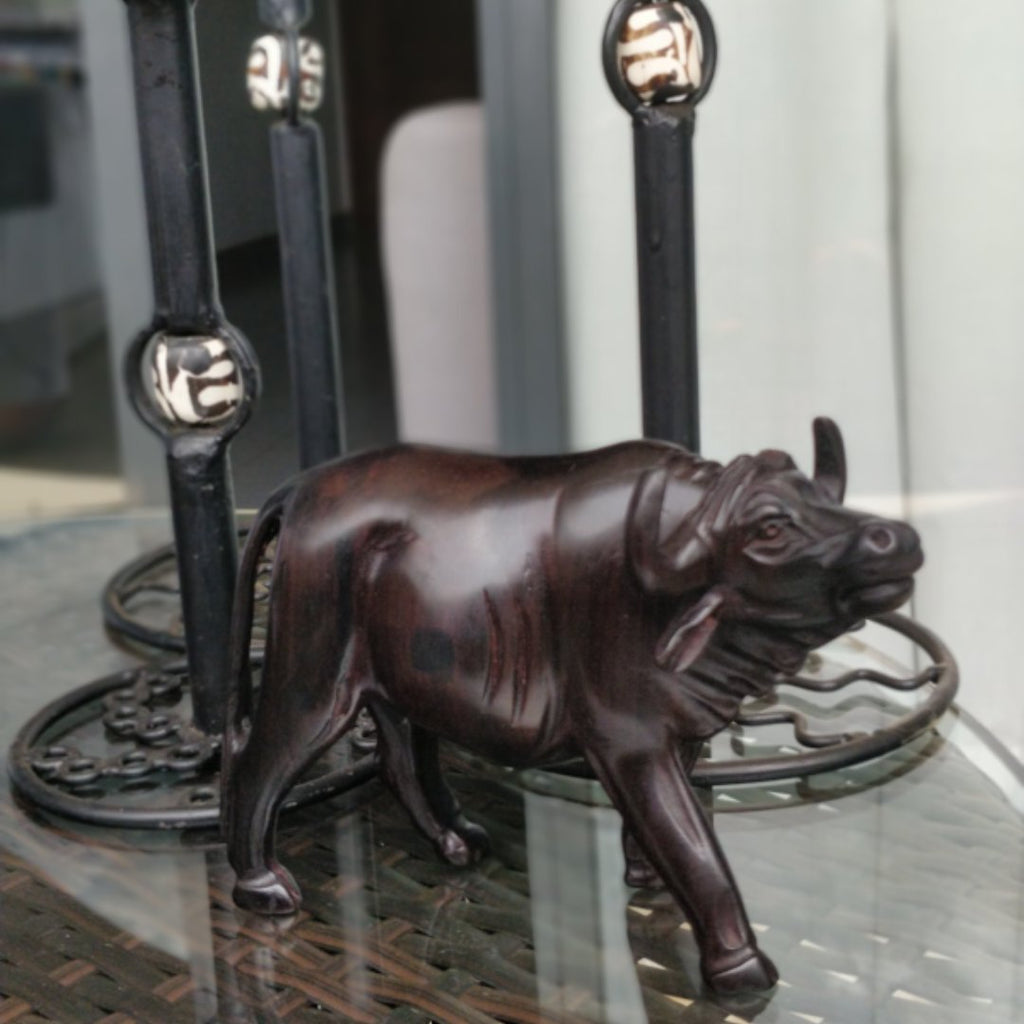 Buffalo Ebony Wooden Sculpture