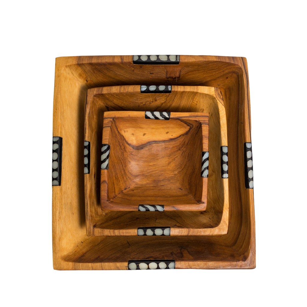 Set of Squared Bowls