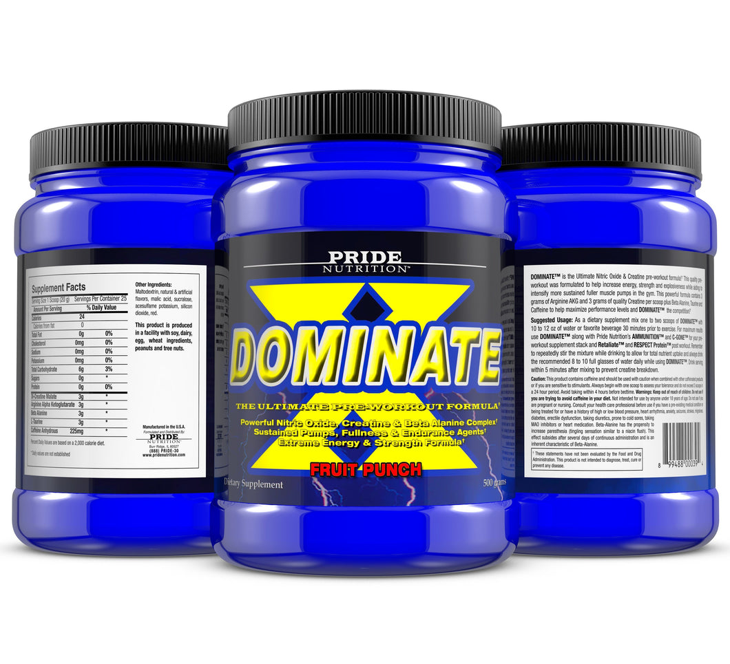 Dominate X (Pre Workout)