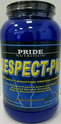 Respect Protein PM 1.9lb (Time Released Night Time Formula)