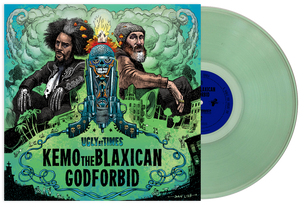 "KEMO THE BLAXICAN & GODFORBID - UGLY AT TIMES 12"" VINYL EP"