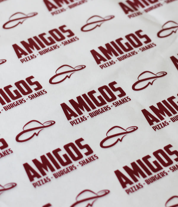 AMIGOS Printing on greaseproof paper