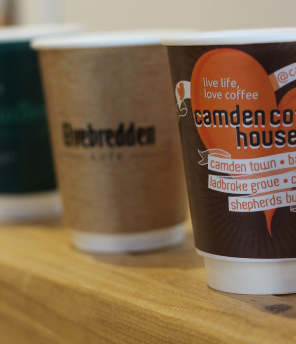 Coffee cup branding - What are your options?