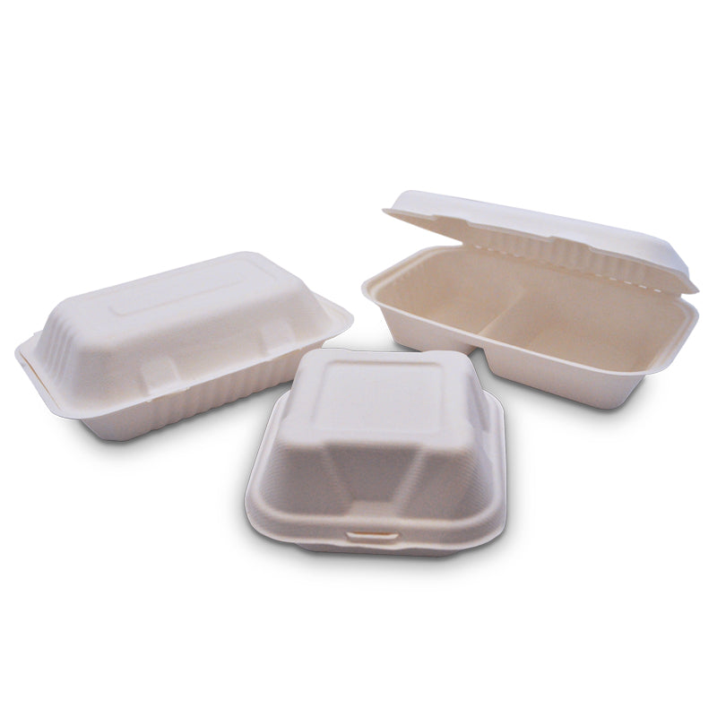 Bio / Compostable Hinged Clamshells