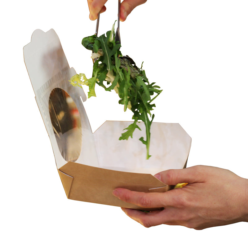 Salad Trays & Boxes - Compostable / Recyclable