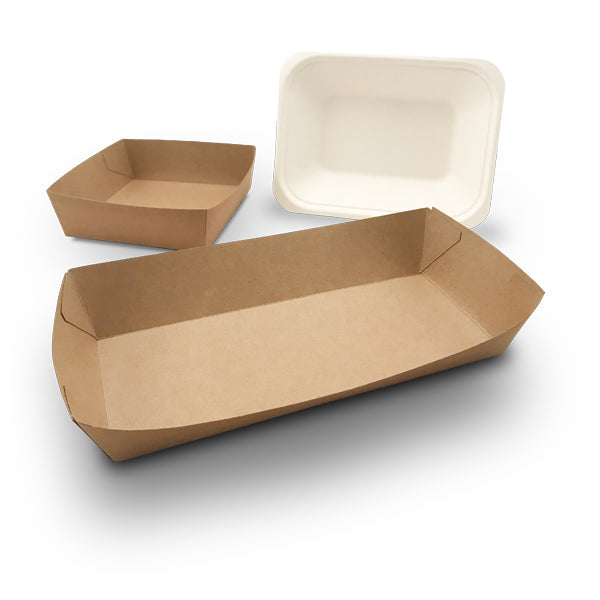 Cardboard Food Trays