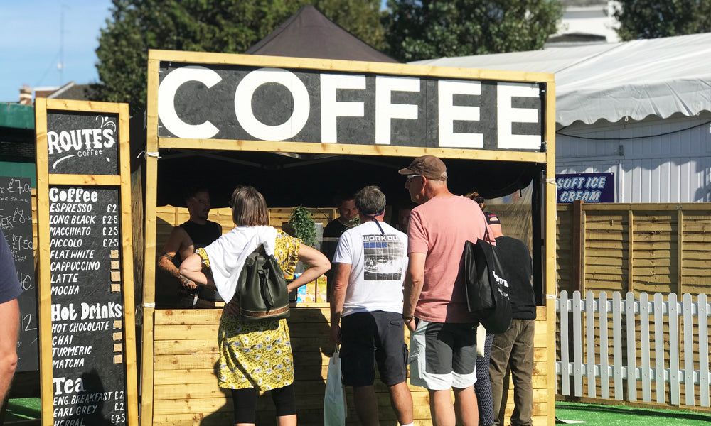 coffee stand / stall / boat show 2019